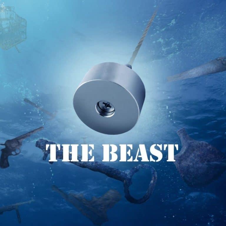 Beast vismagneet magnetar beast vis magneet magneetvissen allround vismagneet